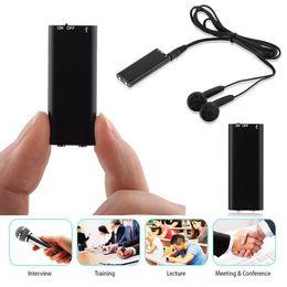 2019 reproductor de litio mp3 829-8GB grabación de voz Reproductor MP3 multifunción Negro de litio de la batería 0,02 kg Kit de pluma de la grabación reproductor de litio mp3 baratos
