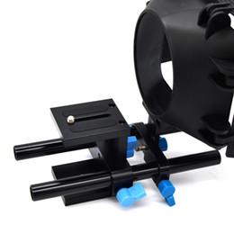 Canada HOT 15mm Système de support de tige de rail DSLR Support de montage de plaque de base pour support de caméra pour suivre la boîte de mise au point mate Offre