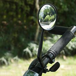 Miroir à bicyclette en Ligne-Nouveau Sport Vélo Vélo Route Route Guidon En Verre Rétroviseur Réflecteur De Sécurité Convexe Rétroviseur Vélo Accessoire