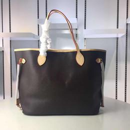piccoli sacchetti di tote tela Sconti Borsa shopping donna in tela da donna con piccola borsa a spalla in vera pelle di alta qualità