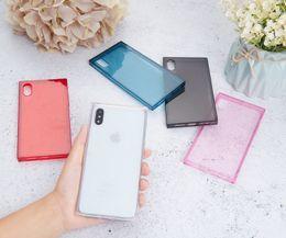 Deutschland Am billigsten! Ultra dünner klarer transparenter tpu silikon platz case für iphone xs max xr 8 6 7 6 s plus schützen gummi telefon case Versorgung