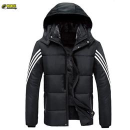 808e8bf4ecc Winter Men Long Jacket with hooded Casual Black Male Parkas Plus Size 9XL  Down Cotton Men s Warm Fleece Puffer Coat