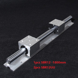 Linear Rail 2PCS SBR16-300MM Linear Guide 2 Linear Guide Rails and 4 Square Type Carriage Bearing Blocks,CNC Rail Kit,Linear Rails and Bearings Kit Automated Machines and Equipments