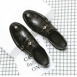 casual comfy shoes Promo Codes - 2019 Men Genuine Leather Casual Designer loafers Shoes Soft Metal buckle summer Fashion Brand Flats Comfy Luxury mens shoes