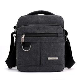 cae65ec7376d Men s Classic Crossbody Bag Retro Shoulder Bag Canvas Fabric Male Cross  Body Shoulder Men s Handbag Casual Travel Messenger