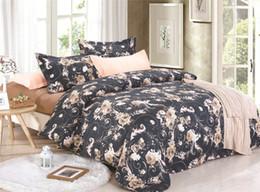 2019 country bedding sets regina Biancheria da letto di lusso in stile cinese Imposta trapunte country Copripiumino Queen Size / King Size country bedding sets regina economici