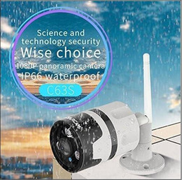 Sicherheitskugel online-HD 2.0MP 1080P 180degree Panorama P2P Onvif IP67 Außeneinschusswasserdichte Sicherheit drahtlose WIFI IP-Kamera mit IR-Cut Night Vision