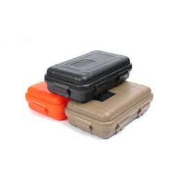 Hot Outdoor Sport Gear a prueba de golpes Caja impermeable Caja sellada EDC Herramientas Caja de almacenamiento de supervivencia salvaje DHL desde fabricantes