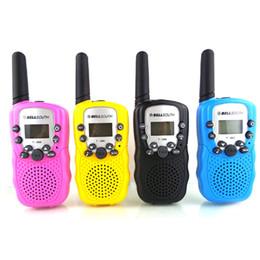 Mini-walkie-talkie zwei-wege-radio online-Mini Walkie Talkie Kinderradiosender T388 Tragbares Radio Zweiwege-Funk Talkly Kinder Transceiver