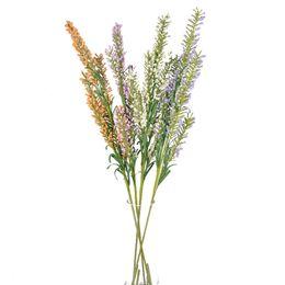 Blumen arrangieren online-Lavendel Künstliche Blume Handgemachte Schaum Simulation Blumen Hochzeit Arrangieren Startseite Dekorieren Liefert Einfach Gemütlich Creativ Mehr Farbe 2 1hcC1