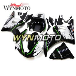 Nero Bianco Verde Nuova carrozzeria per Yamaha YZF-600 R6 Anno 2003 2004 Kit cappottini in plastica completa Rivestimenti per telai R6 03 04 da kit corpo yamaha r6 bianco fornitori