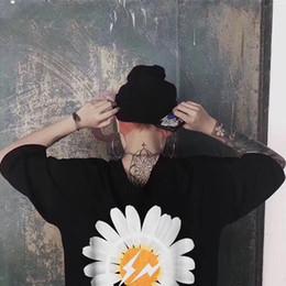 Nuevos estilos de camiseta online-Nuevo diseño de FRAGMENTO de Peaceminusone Hombres Mujeres 1p: 1 Camisetas de gran tamaño con la mejor calidad Camiseta negra estilo verano Camisetas