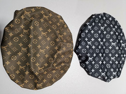 Sombreros de cabeza de hip hop online-Durag Diadema Sombrero de pirata Bandanas para hombres y mujeres negro marrón Diseños Sedosos Durags Du-Rag Bandana Headwraps Hip hop Gorras Head Wraps