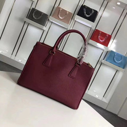 good price leather bags Promo Codes - hot selling real cowhide leather excellent quality famous brand shoulder bag for lady on good price free shipping
