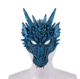 Kids Halloween Spooky Dracula Witch Mask Foam Eva Fancy Dress Costume Toy Lot