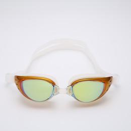 Su geçirmez Savunma Sis Yüksek Temizle Gözlük Erkek Ve Kadınlar Çerçeve Olacak Elektrolizle Miyopi Yüzme Gözlük Düz Cam taktik D55 nereden kaliteli bisikletler tedarikçiler