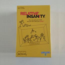 jogos de mesa de natal Desconto Playmonster Relative Insanity Partido Jogo de cartas Jogo de festa para adolescentes e adultos Jeff foxworthy Card Games