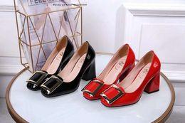 chaussures à talons dorés Promotion Marque 2019 chaussures à talons rugueux mariée strass cristal paillettes haute partie de bal rouge sexy mariage d'or