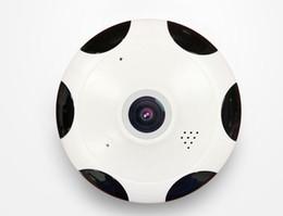 Câmera de ângulo aberto on-line-360 Grau Panorâmica IP Câmera Fisheye 3D VR 1080 P Sem Fio Wi-fi 2.4GHZ Security Camera Super Wide Angle Suporte Noite IR