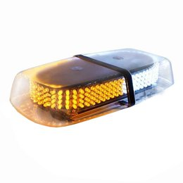 Argentina Luz de luz estroboscópica de seguridad de arado de nieve de advertencia de ámbar / blanco de doble color con carro magnético y base magnética Suministro