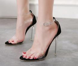 39e134737eb 2019 vente en gros Nouveau style Stage Performance Crystal Suivante  Sandales à talons hauts night club party dance chaussures sexy grande  taille sandales de ...