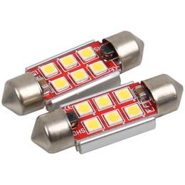 bmw e46 ampoules Promotion 10x LED 36mm Blanc CANbus C5W Ampoules 2835SMD Éclairage Intérieur Plaque D'immatriculation Lumière Pour BMW E39 E36 E46 E90 E60 E30 E53 E70