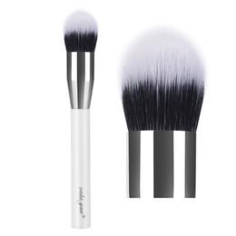 Canada vela.yue Duo Fiber Stippling Brush Pinceau Fond de Teint Poudre à usages multiples Poudre Bronzer Blusher Surligneur Outil de Maquillage Offre