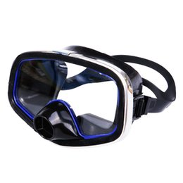 2019 mergulho livre Homens Mulheres Snorkeling Diving Goggle Limpar Visibilidade Grande Nariz Lente Grande Anti Fog Livre Respirar Suprimentos De Vidro Ajustável desconto mergulho livre