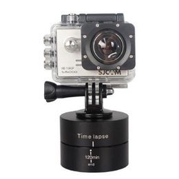 gopro sports Coupons - 360 Degrees Rotating Tripod Head Base 120 Min Time Lapse Stabilizer For Gopro 6 5 4 3+ 3 Sjcam Xiaoyi Sport Cameras