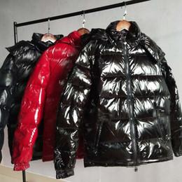 casacos de anorak para homens Desconto Homens jaqueta de marca de inverno França Designer homens de alta qualidade quente Plus Size homem para baixo e jaqueta Parka Anorak