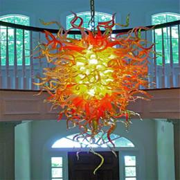 Raccordi di vetro online-Piccola luce per camera bambini della lampada da parete di vetro Bene Light Fittings disegno speciale Chili Forma Vetro di Murano Lampada Lanterna Lampadario
