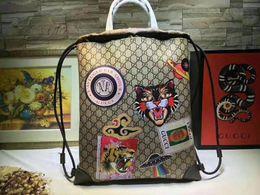 2019 модные сумки с вышивкой аппликация из натуральной кожи сумка женские сумки кошельки большая сумка сумки высокого качества ABF-9 от