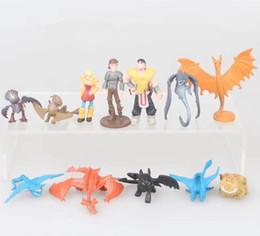 figura del drago 12 Sconti 12 pz / set Come Addestrare il Drago 3 figure Giocattoli Hiccup Drago PVC Figure bambini collezione regalo casa deocr FFA1705