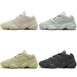 b2583b923 2019 New Kanye West 500 Desert Rat Blush 500s Salt Super Moon Yellow  Utility Black mens running shoes for men women sports sneakers designer  discount kanye ...