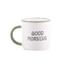 New White porcelain Green bordo mug Cute Cartoon Love tazze da tè mug Bicchieri da caffè Bicchieri per l'acqua del latte Colazione Puer tazze di tè da tazza di caffè bianco della porcellana fornitori