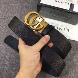 cinture di marca superiore per gli uomini Sconti Cinture di marca da uomo, cinture di lusso con tigri, grandi fibbie, cinture da donna all'ingrosso di alta moda, scatole regalo, consegna gratuita!