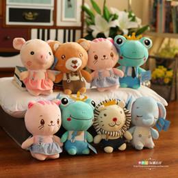 Baby 25cm peluche 1-4 giocattoli per bambini come ragazze carino peluche maiale ragazzo grazioso piccolo asino bambini peluche giocattoli farciti animali regalo da