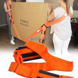 cinture mobili Sconti 2pcs DHL 20pcs / set di mobili in movimento cinghia da polso avambraccio Heavy Duty Sollevamento mobili Moving Strap Belt Strumenti Carry