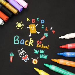 Акриловые Маркеры mb Pen 12 Цветов Ручки Краски Премиум для Росписи на Рок-Стекле Холст Металл Дерево Керамическое Пасхальное Яйцо DIY Craft Projects от