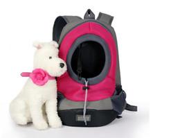 2019 sacs à provisions pour chiens en gros Vente en gros de produits pour animaux de compagnie, chiens à la mode de toutes les couleurs, sacs à bandoulière sortants, sac oblique sortant, sac de respiration pour chien