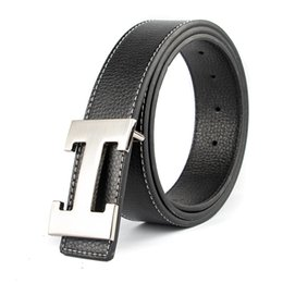 джинсовые ремешки Скидка  Designer H  Designer Belts Men High Quality Male Genuine Real Leather Women Buckle Strap for Jeans Red