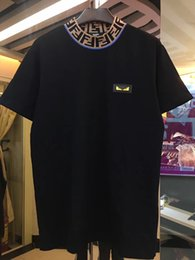 HOT Medusa T-shir polo di design t shirt Luxury Brand ricamo floreale mens polos High street fashion stripe t-shirt di marca Mens da