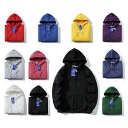 Tendência de moda bordados on-line-Champions marca designer hoodies EUA nova tendência Arm bordado duplo hoodie Além de veludo camisola de alta qualidade mulheres moda camisola de luxo