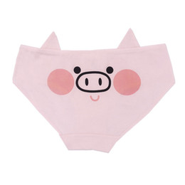 072bada212 Women Underwears with Pig Girl Soldier Lovely Cartoon Cotton Girls  Underwear Ladies panties Fresh low-waist Comfortable Breath Underwear