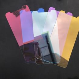 pour iPhone xr xs max Miroir en verre trempé Film de protection écran avant coloré pour iPhone X XS Sans emballage B ? partir de fabricateur