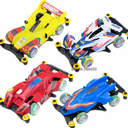 f1 coches juguetes Rebajas RC Racing Car MINI-4WD Mini F1 Formula Racing ToyS Niños Modelos Regalo para niños