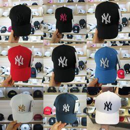 79437904d4e37 New York Wholesale high quality NY Yankees fade Baseball Caps Hat Curved  Visor casquette hats Golf bone Snapback Hat