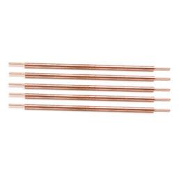 Pino de solda on-line-5 pcs 3x100 soldador ponto soldagem pin acessórios de solda de cobre de alumina pés