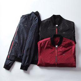 07de63b84a Outono inverno flor tigre impressão casacos homens nova marca designer  blusão homens homens de rua de alta jaqueta de desporto casacos frete grátis