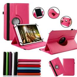 Fall für acer iconia tab online-Universal 360 rotierenden verstellbaren Flip PU Leder Stand Case für 7 8 9 10 10,1 10,2 Zoll Tablet PC MID Samsung Tab iPad Huawei